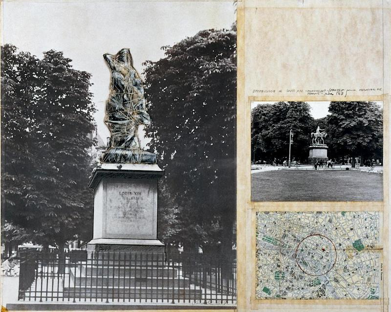 Renderings for Christo and Jeanne-Claude's intended
