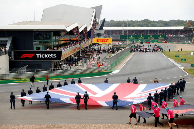 Motor racing - Silverstone holding out until end of April on British GP