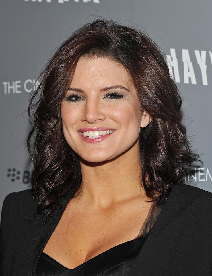 <p>Gina Carano (<strong>Haywire</strong>) is bringing her action-savvy skills to the series as Cara Dune, a former shock trooper who battled during the Galactic Civil War. Now a seasoned warrior, she operates as a mercenary.</p>