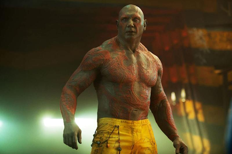 Dave Bautista is Drax