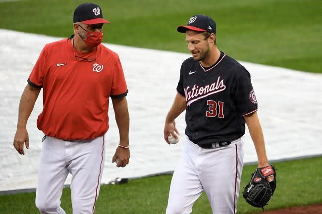 Nationals let pitching coach Menhart go, year after title