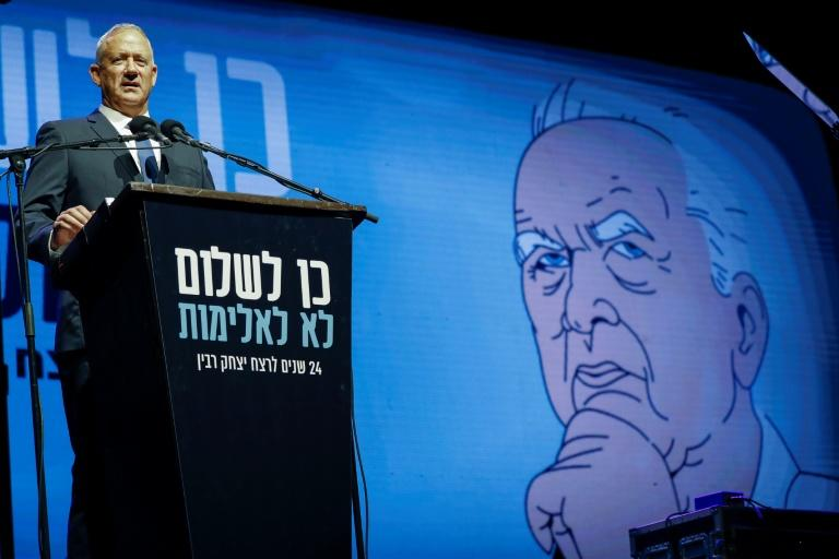 Benny Gantz is scrambling to form a coalition and become Israeli prime minister (AFP Photo/JACK GUEZ)