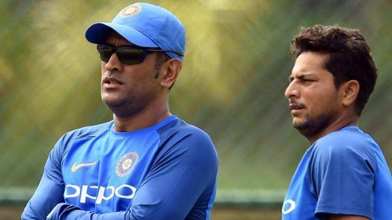 MS Dhoni was a keeper-cum-mentor for spinner Kuldeep Yadav.