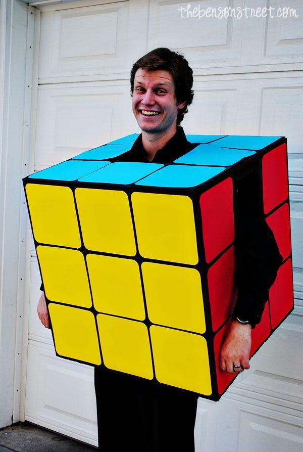 """<p>With the frustrating little buggers experiencing a new surge in popularity with teens, this is a stellar time for the return of the classic Rubik's Cube costume.</p><p><strong>Get the tutorial at <a href=""""http://www.thebensonstreet.com/2013/09/06/rubiks-cube-costume/"""" rel=""""nofollow noopener"""" target=""""_blank"""" data-ylk=""""slk:The Benson Street"""" class=""""link rapid-noclick-resp"""">The Benson Street</a>.</strong></p><p><a class=""""link rapid-noclick-resp"""" href=""""https://go.redirectingat.com?id=74968X1596630&url=https%3A%2F%2Fwww.walmart.com%2Fip%2FCanyon-Black-Rust-Oleum-American-Accents-2X-Ultra-Cover-Satin-Spray-Paint-12-oz%2F631210520&sref=https%3A%2F%2Fwww.countryliving.com%2Fdiy-crafts%2Fg22118522%2Fteen-halloween-costumes%2F"""" rel=""""nofollow noopener"""" target=""""_blank"""" data-ylk=""""slk:SHOP BLACK SPRAY PAINT"""">SHOP BLACK SPRAY PAINT</a><br></p>"""