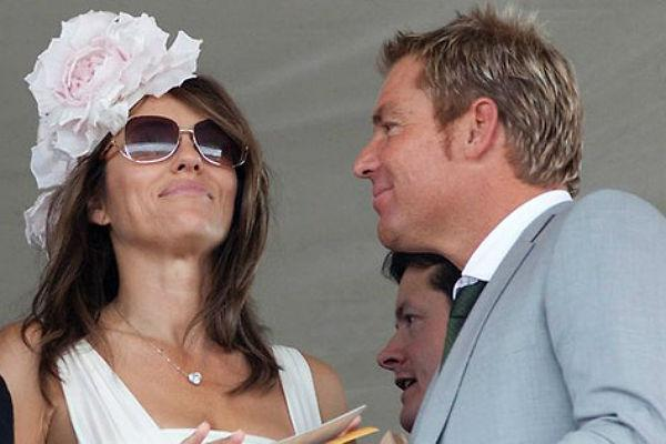 <b>9. Shane Warne and Elizabeth Hurley</b><br><br>The Austrailian cricketer and British actress created a storm in the media with their very public affair. While Warne was recently divorced from his wife owing to his numerous affairs, Hurley cheated on her husband, Arun Nayar, to be with Warne. The couple are still going strong with public display of love everywhere