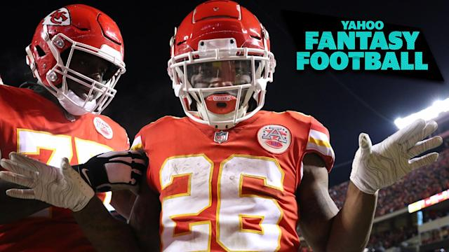 Damien Williams is a high-risk/high-reward fantasy option in 2019. Liz Loza & Matt Harmon discuss Williams and other boom-or-bust candidates on the latest Yahoo Fantasy Football Podcast. (Photo by Scott Winters/Icon Sportswire via Getty Images)