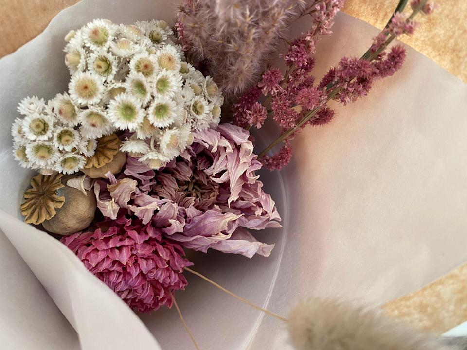 Keep it seasonal: Treea Cracknell's bouquets this month include scented narcissus and tulipsTreea Cracknell