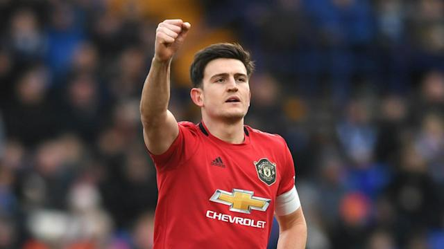 Defenders Harry Maguire and Phil Jones both got on the scoresheet as Manchester United beat Tranmere Rovers 6-0 in the FA Cup fourth round.
