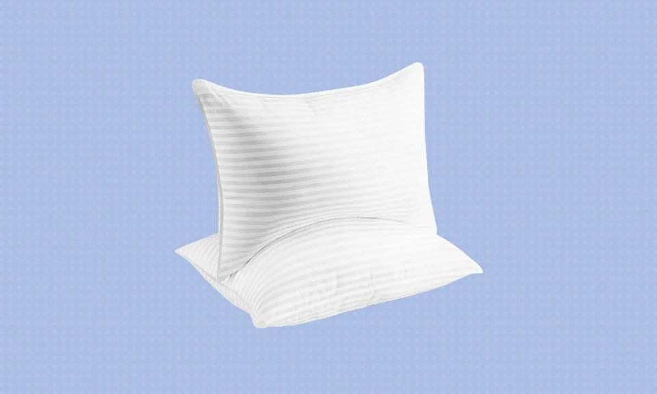 Admittedly, this is not our favorite kind of pillow talk, but we're obligated to tell you:  You won't find a better deal or a better sleepytime headrest. (Photo: Amazon)