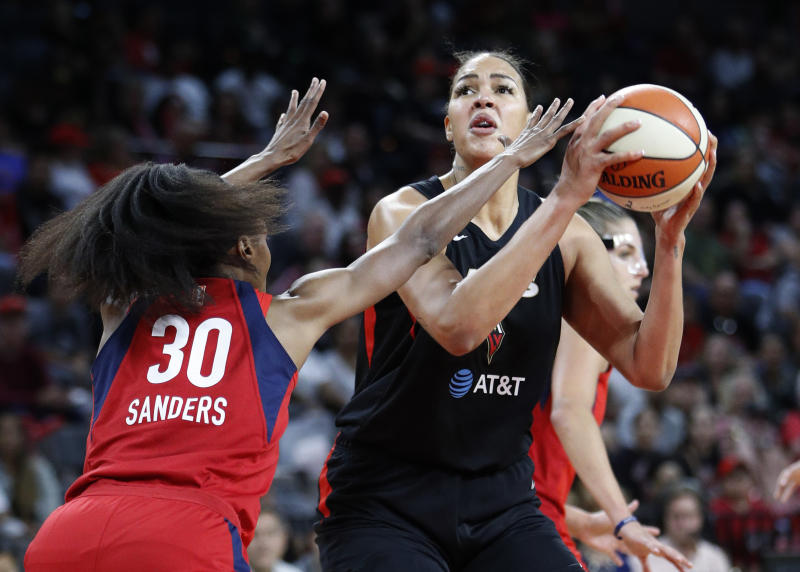 Agent: Cambage expected out; severe risk if she gets virus