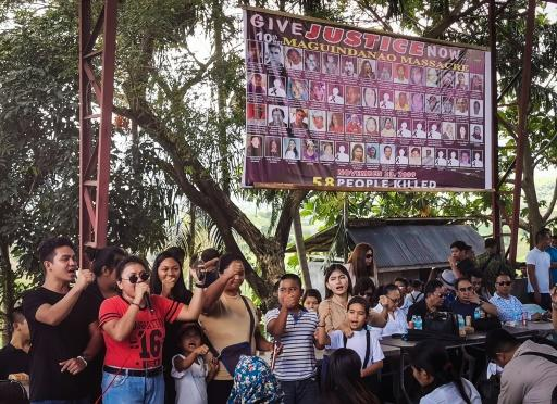 Fifty-eight people including 32 journalists were killed in the November 2009 massacre in the southern Philippines