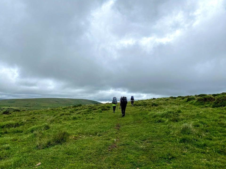 Dartmoor weather can turn in an instant (Megan Eaves)