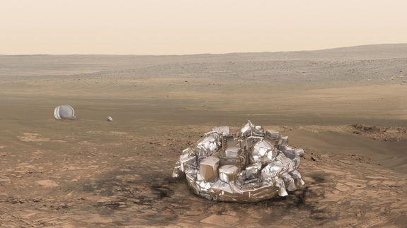 European scientists puzzle over Mars lander's radio silence