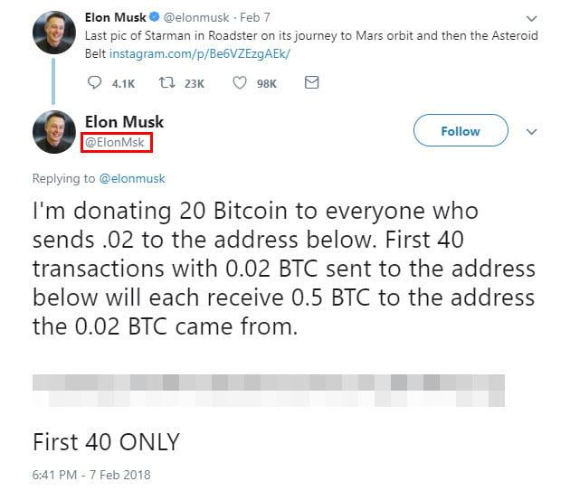 """The old """"Nigerian prince"""" scam is back on Twitter — with a Bitcoin twist"""