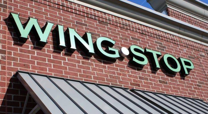 A Wingstop (WING) restaurant storefront in Columbus, Ohio.