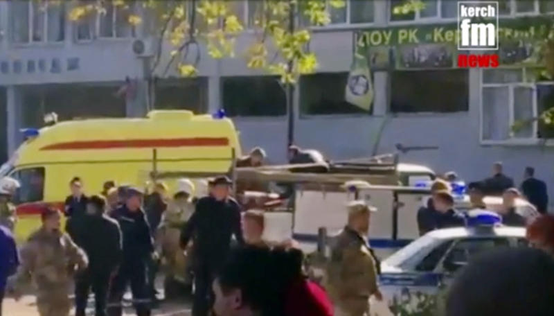 Teen kills 18 students in Crimea college shooting