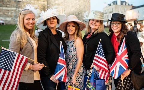 Michelle Wagoner, 33, Molly Larsen, 41, Chloe Hodges, 24, Heather Poynter, 34, and Tammi McBride, 38 from the US
