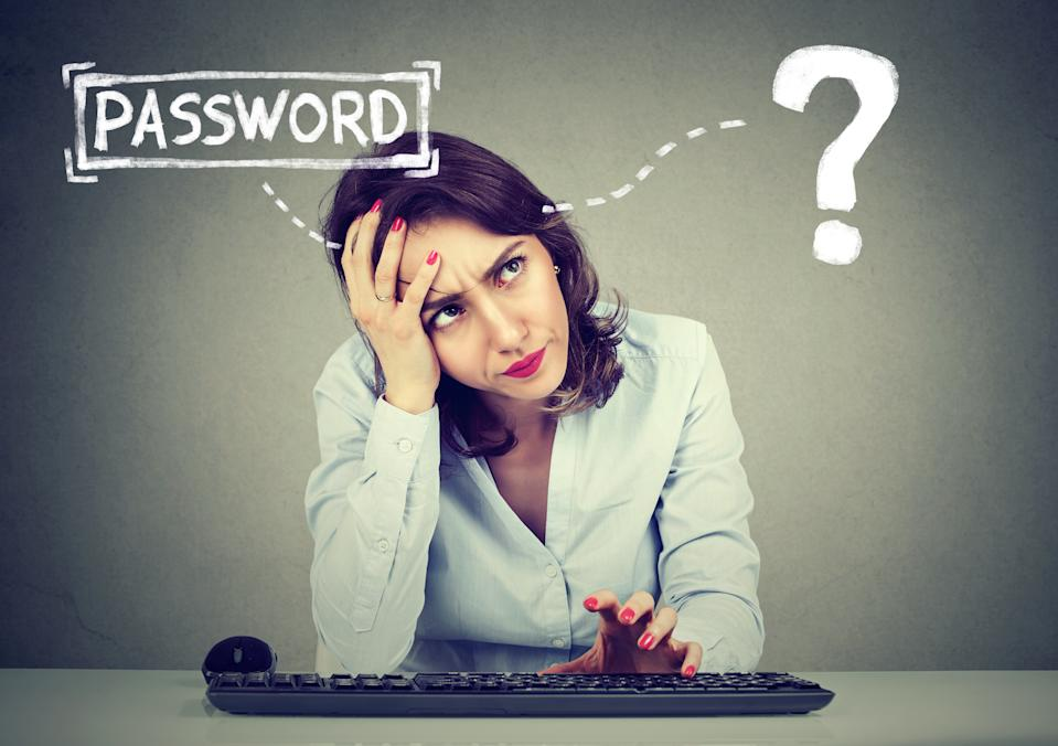 Stuck in password purgatory? You're not alone. (Photo: Getty)