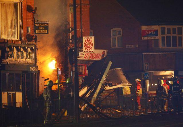 Five victims of Leicester shop blast named by police