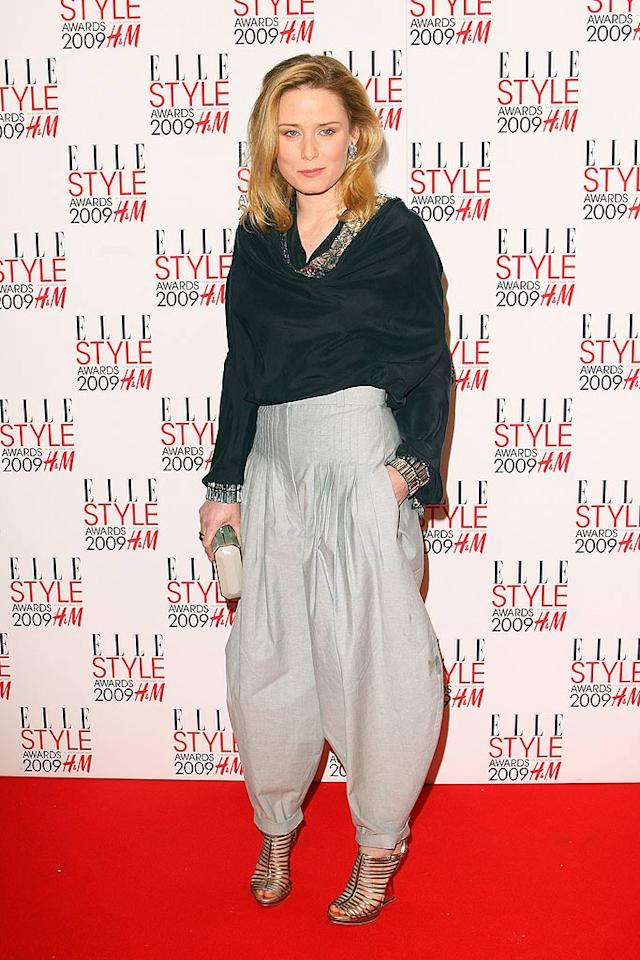 """Irish singer-songwriter Roisin Murphy's parachute pants are painful to look at. Guess what? It's no longer """"Hammer Time!"""" Mike Marsland/<a href=""""http://www.wireimage.com"""" target=""""new"""">WireImage.com</a> - February 9, 2009"""
