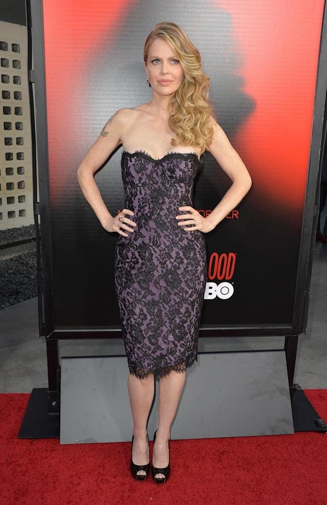 """HOLLYWOOD, CA - JUNE 11: Actress Kristin Bauer van Straten attends the premiere of HBO's """"True Blood"""" Season 6 at ArcLight Cinemas Cinerama Dome on June 11, 2013 in Hollywood, California. (Photo by Frazer Harrison/Getty Images)"""