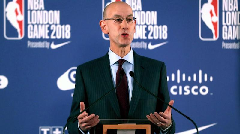 Adam Silver says the National Basketball Association is monitoring tanking, sends memo