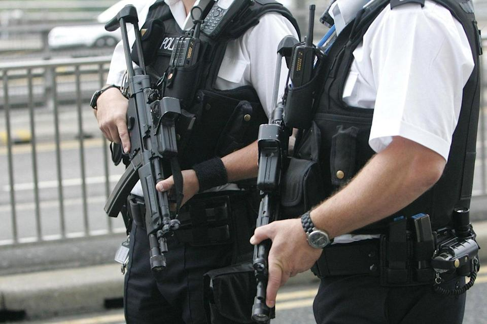 New recruits: More armed officers are to be trained in London (PA)