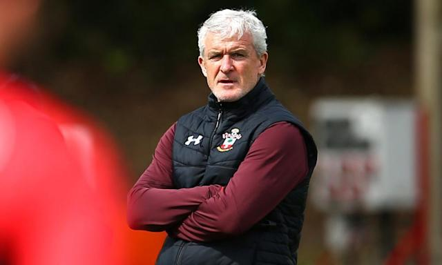 Mark Hughes primed for 'huge game' in Southampton's survival bid