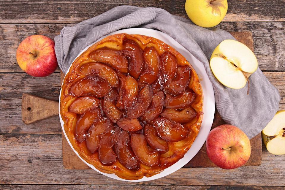 """<p>Massachusetts is looking forward to fall by Googling how to make tarte tatin, a French dessert made using apples. Before making your own apple tart, make sure you read up on all of <a href=""""https://www.thedailymeal.com/eat/apple-varieties-uses?referrer=yahoo&category=beauty_food&include_utm=1&utm_medium=referral&utm_source=yahoo&utm_campaign=feed"""" rel=""""nofollow noopener"""" target=""""_blank"""" data-ylk=""""slk:the most popular apple varieties and their uses"""" class=""""link rapid-noclick-resp"""">the most popular apple varieties and their uses</a>.</p>"""