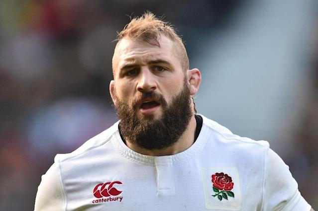 England's prop Joe Marler, pictured in February 2017, was handed the suspension by an independent Rugby Football Union disciplinary panel (AFP Photo/Glyn KIRK )