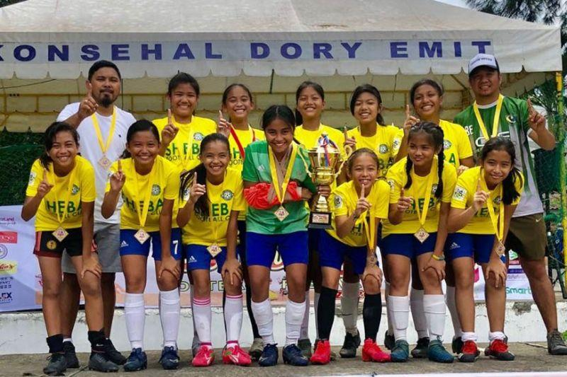 KNF bags 2 trophies in Sinulog Football Cup