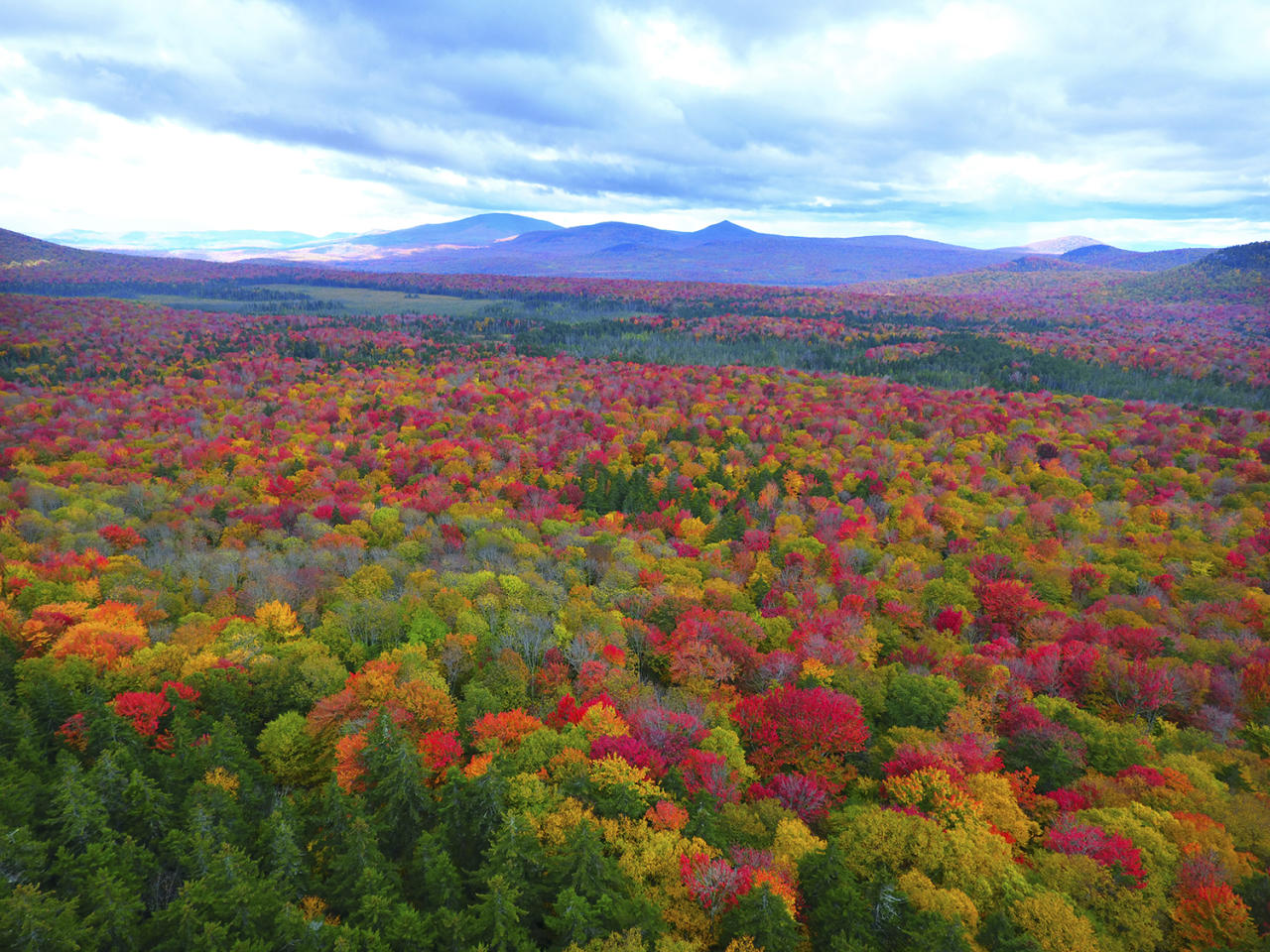 <p>These aerial pictures were taken by Matt Benedetto, 28, of Burlington, Vermont. (Photo: Matt Benedetto/Caters News) </p>