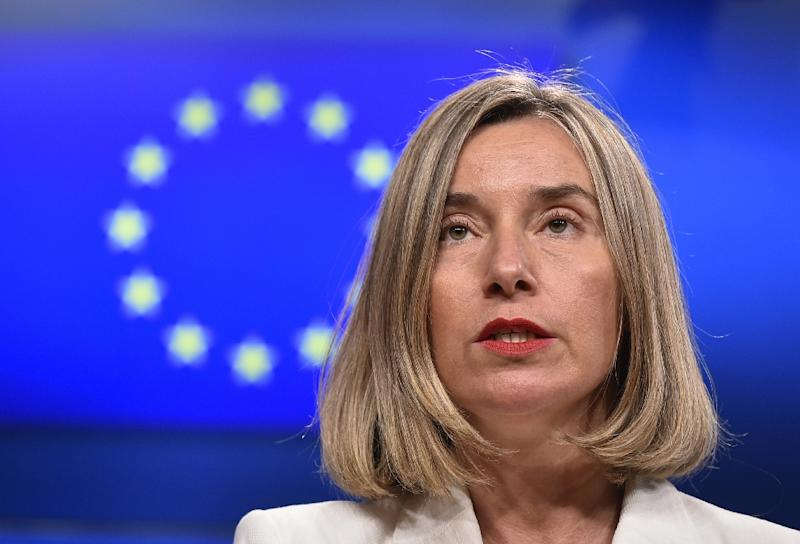 "EU foreign policy chief Federica Mogherini said the 2015 nuclear deal struck between Iran and major world powers was the ""best possible outcome"""