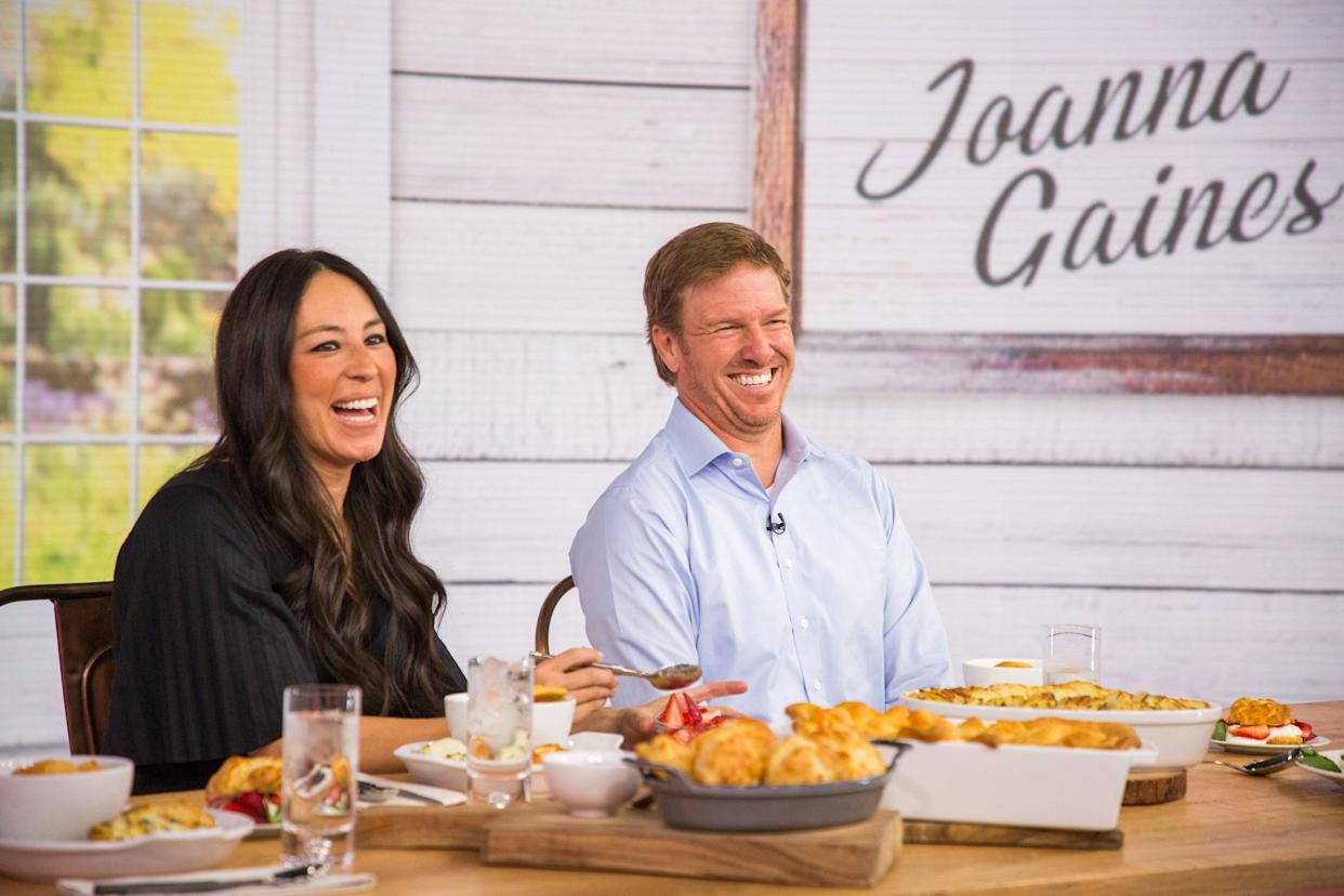 Chip and Joanna Gaines pictured together on April 24.