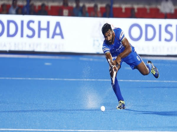 Indian men's hockey team defender Surender Kumar (Photo/ Hockey India)