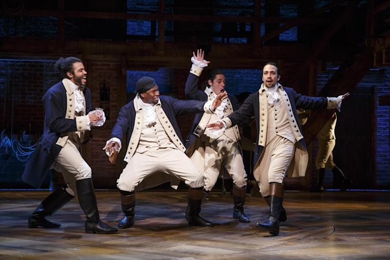 Wait for It: The stars of Hamilton have taken the entertainment world by storm
