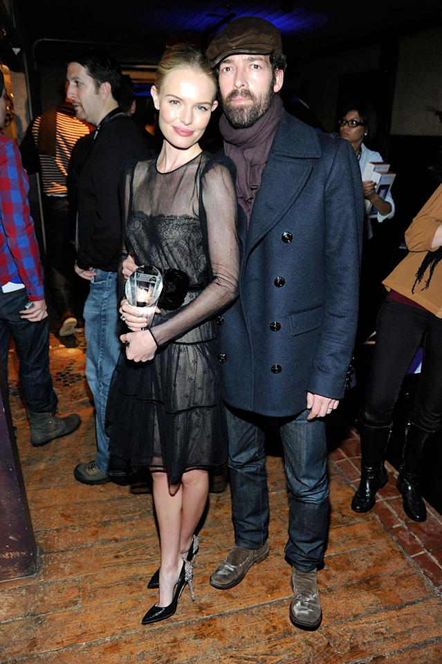 Kate Bosworth and Michael Polish are seen out and about during the 2012 Sundance Film Festival in Park City, Utah on January 22, 2012.