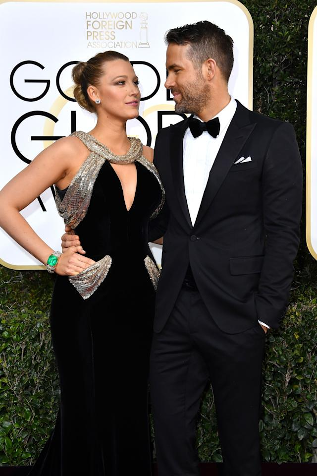 <p>From Blake Lively and Ryan Reynolds to Chrissy Teigen and John Legend, these Hollywood A-list couples brought major style and some cute PDA on the red carpet.</p>