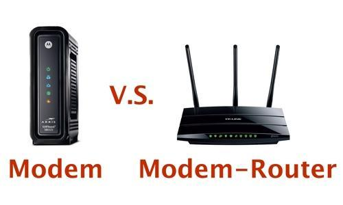 Modem and modem-router