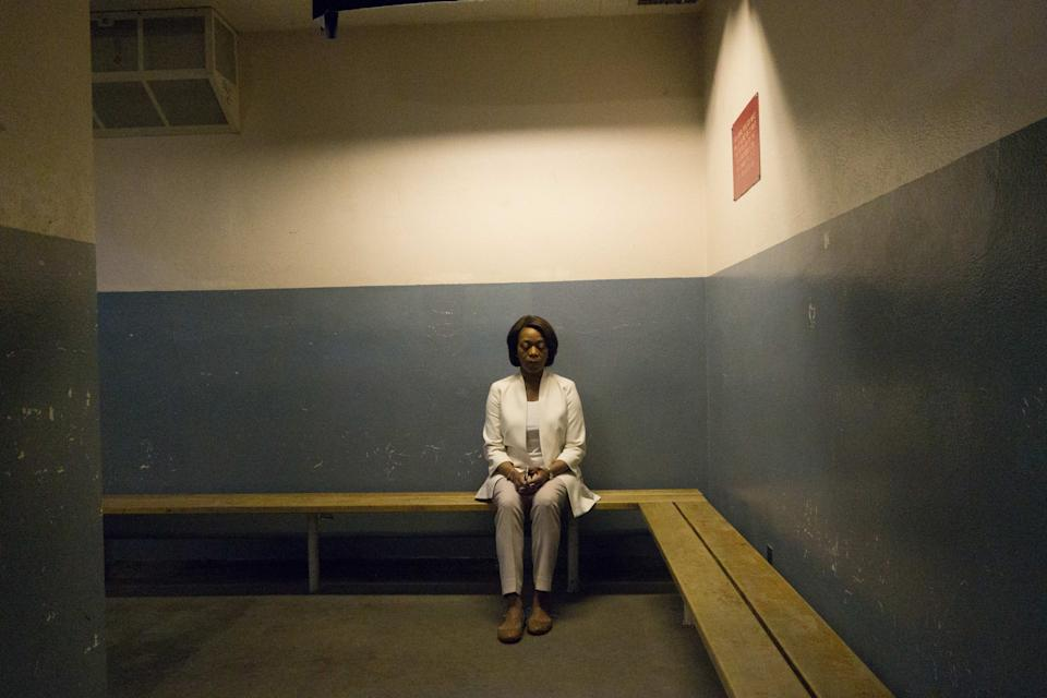 Alfre Woodard in a still from Clemency. (Bohemia Media)