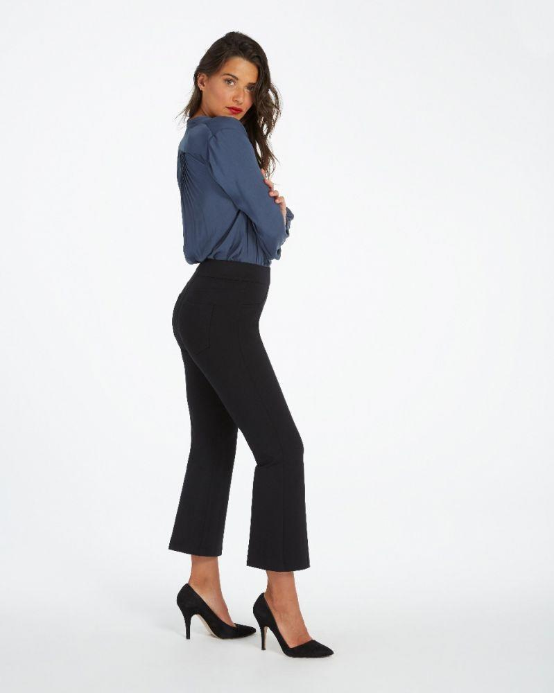 The Perfect Black Pant, Cropped Flare (Credit: Spanx)