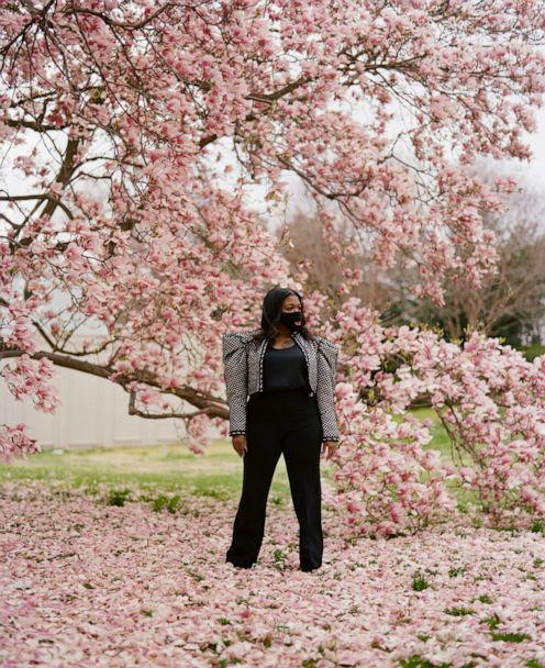 PHOTO: Rep. Cori Bush, D-Missouri, is photographed outside the U.S. Capitol Building on April 1, 2021. (Tyra Mitchell for ABC News)