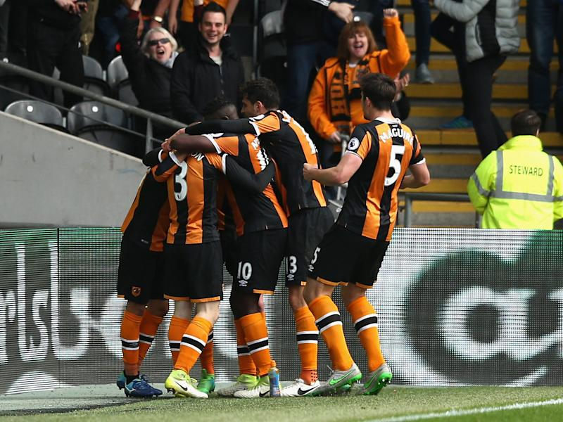 Hull are two points clear of the drop after the win: Getty