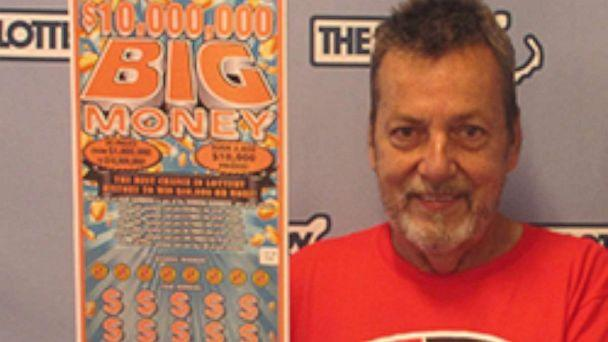 PHOTO: Peter Levesque won a $10 million dollar prize in the Massachusetts state lottery. (Masslottery.com)