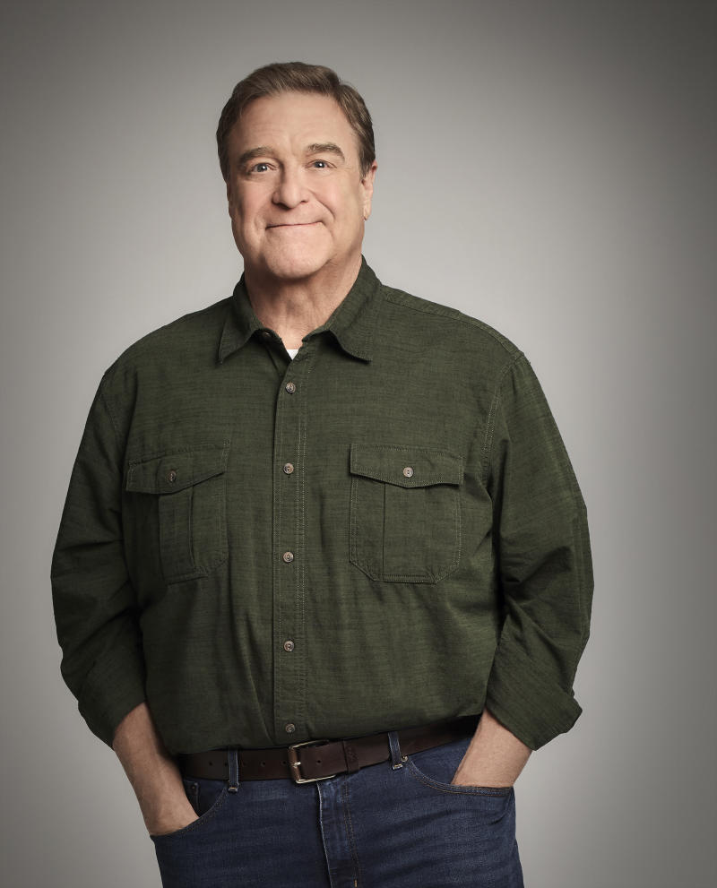 "ROSEANNE - Walt Disney Television via Getty Images's ""Roseanne"" stars John Goodman as Dan Conner. (Robert Trachtenberg via Getty Images)"