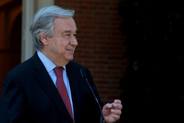 Secretary general of the United Nations, the Portuguese António Guterres (Photo: picture alliance via Getty Images)