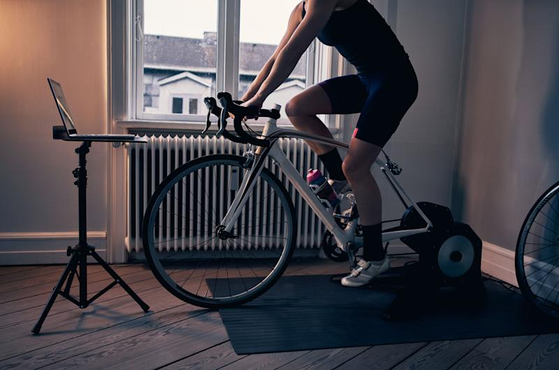 """We found Amazon Prime Day fitness deals, including this <a href=""""https://amzn.to/2SOo8rl"""" target=""""_blank"""" rel=""""noopener noreferrer"""">HARISON Stationary Upright Exercise Bike on sale for $350</a>that's normally $440. (Photo: pixdeluxe via Getty Images)"""