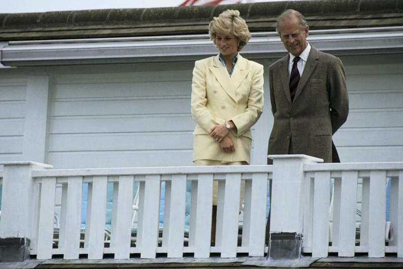Princess Diana and Prince Philip's relationship is said to have soured towards the end of her life. Photo: Getty Images