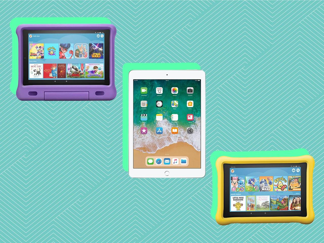 10 best kids' tablets for learning and playing games