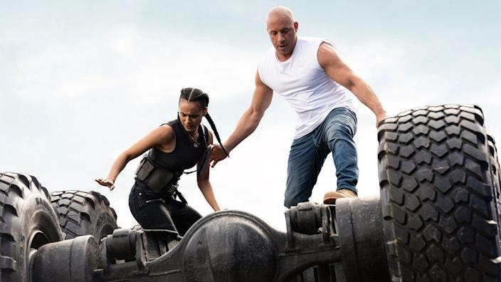 """<p>Oh yes. We've waited long enough. While there's always the opportunity of another delay, it does seem like we'll finally get the tenth (we're counting <em>Hobbs and Shaw</em>) installment in <a href=""""https://www.menshealth.com/entertainment/g28645511/fast-and-furious-movies-ranked/"""" rel=""""nofollow noopener"""" target=""""_blank"""" data-ylk=""""slk:the Fast and Furious franchise"""" class=""""link rapid-noclick-resp"""">the <em>Fast and Furious </em>franchise</a>this year after an initial year delay. This one will give us the return of Charlize Theron as the villain, fan-favorite Han back in the fold (Justice!!) and John Cena as Vin Diesel's evil brother. Hell, we might even get a trip to space in this one. What more could you want in your action franchise? </p>"""